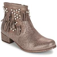 Sapatos Mulher Botas baixas Mimmu MOONSTROP Castanho
