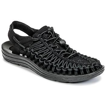 Sapatos Homem Sandálias desportivas Keen UNEEK Preto