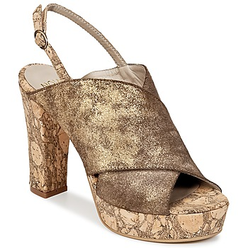 Sapatos Mulher Chinelos Now PALISSA Bronze