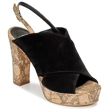 Sapatos Mulher Tamancos Now PAPIRON Preto