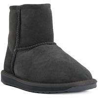 Sapatos Mulher Botas de neve EMU STINGER MINI CHARCOAL Grigio