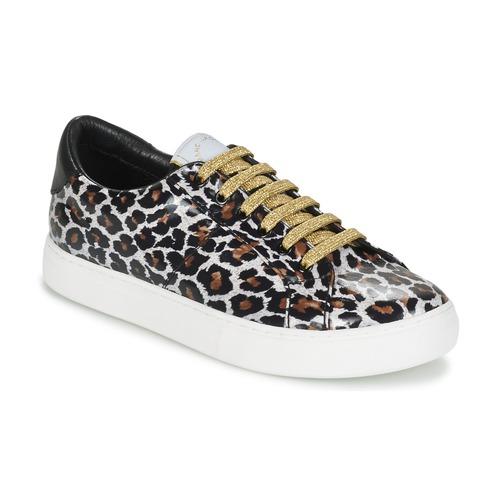 Sapatos Mulher Sapatilhas Marc Jacobs EMPIRE LACE UP Leopardo