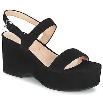 Sapatos Mulher Sandálias Marc Jacobs LILLYS WEDGE Preto