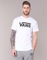 Textil Homem T-Shirt mangas curtas Vans VANS CLASSIC Branco