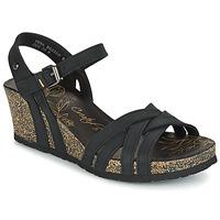 Sapatos Mulher Sandálias Panama Jack VERA Preto