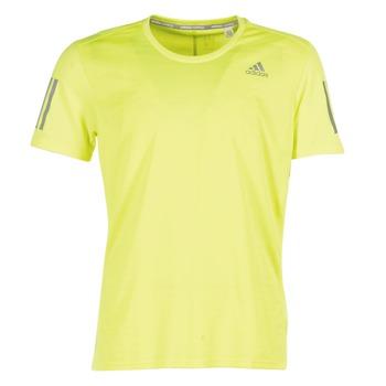 Textil Homem T-Shirt mangas curtas adidas Performance RS SS TEE M Amarelo