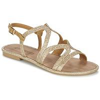 Sapatos Mulher Sandálias Esprit NAZLI SANDAL Ouro
