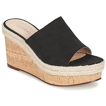 Sapatos Mulher Sandálias Esprit FARY MULE Preto