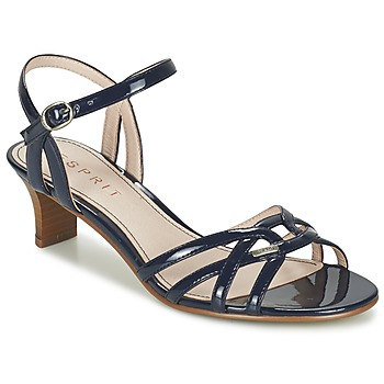 Sapatos Mulher Sandálias Esprit BIRKIN SANDAL Marinho