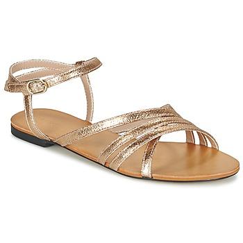 Sapatos Mulher Sandálias Esprit ADYA SANDAL Ouro