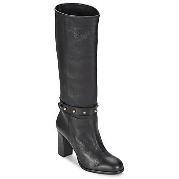 Sapatos Mulher Botas Moschino Cheap & CHIC STUD Preto