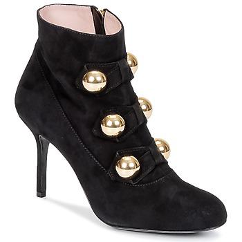 Sapatos Mulher Botins Moschino Cheap & CHIC BOW Preto