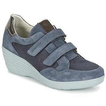 Sapatos Mulher Sapatilhas Stonefly EBONY Azul