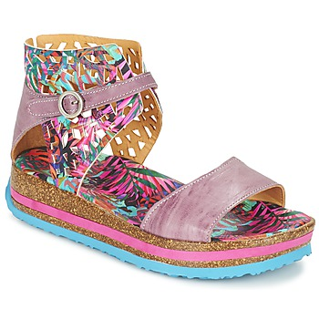 Sapatos Mulher Sandálias Think REMIL Rosa / Multicolor