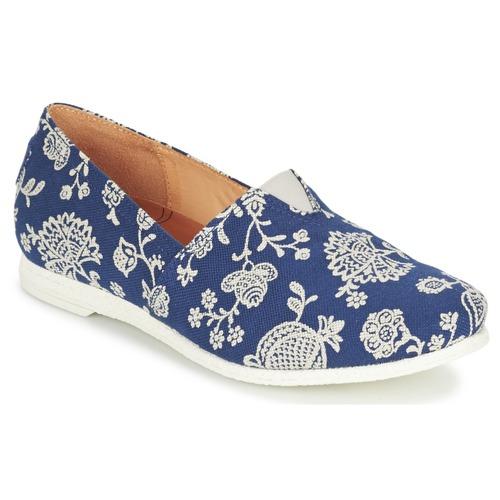 Sapatos Mulher Slip on Think GRIVA Marinho / Branco