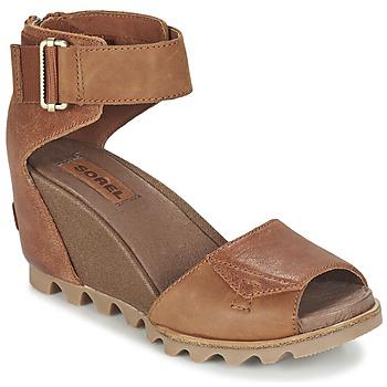 Sapatos Mulher Sandálias Sorel JOANIE SANDAL Castanho / Rustica