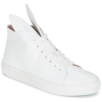 Sapatos Mulher Sapatilhas de cano-alto Minna Parikka BUNNY SNEAKS Branco