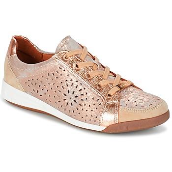 Sapatos Mulher Sapatilhas Ara ZIMELLE Rosa / Metalizado