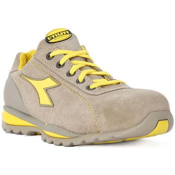 Sapatos Homem Sapatilhas Diadora UTILITY GLOVE II LOW S1P Grigio