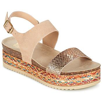 Sapatos Mulher Sandálias Bullboxer GROJETINE Bege / Multicolor