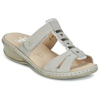 Sapatos Mulher Chinelos Caprice VILIALE Cinza