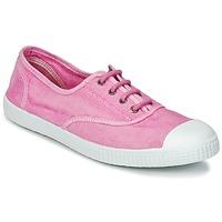 Sapatos Mulher Sapatilhas Chipie JOSEPH Rosa / Areia