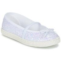 Sapatos Rapariga Sabrinas Chipie SALSABA Glitter / Branco