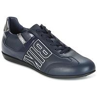 Sapatos Homem Sapatilhas Bikkembergs R-EVOLUTION 186 LEATHER Azul