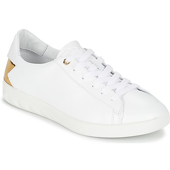 Sapatos Mulher Sapatilhas Diesel S-OLSTICE LOW W Branco / Ouro