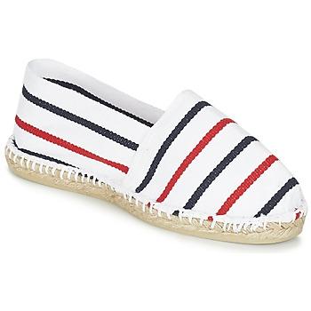 Sapatos Alpargatas 1789 Cala CLASSIQUE Branco / Azul / Vermelho