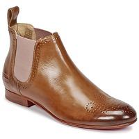Sapatos Mulher Botas baixas Melvin & Hamilton SALLY 16 Camel