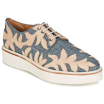 Sapatos Mulher Sapatos Melvin & Hamilton MOLLY 11 Azul / Bege