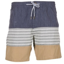 Textil Homem Shorts / Bermudas Volcom THREEZY JAMMER Marinho / Bege / Cinza
