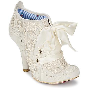 Sapatos Mulher Botas baixas Irregular Choice ABIGAILS THIRD PARTY Branco / Creme