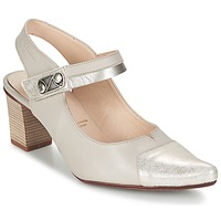 Sapatos Mulher Escarpim Dorking DELTA Bege