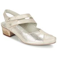 Sapatos Mulher Escarpim Dorking MENET Prateado / Cinza