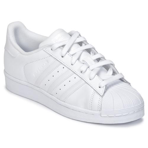 Sapatos Criança Sapatilhas adidas Originals SUPERSTAR Branco