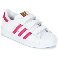 Sapatos Rapariga Sapatilhas adidas Originals SUPERSTAR FOUNDATIO Branco