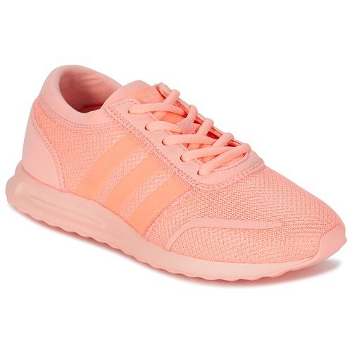 Sapatos Rapariga Sapatilhas adidas Originals LOS ANGELES J Rosa / Coral