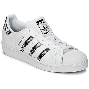 Sapatos Mulher Sapatilhas adidas Originals SUPERSTAR W Branco