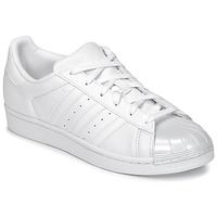Sapatos Mulher Sapatilhas adidas Originals SUPERSTAR GLOSSY TO Branco