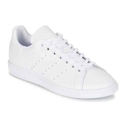 Sapatos Criança Sapatilhas adidas Originals STAN SMITH J Branco