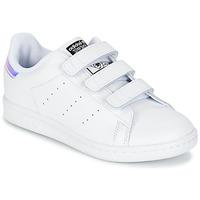 Sapatos Criança Sapatilhas adidas Originals STAN SMITH CF C Branco