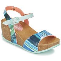 Sapatos Mulher Sandálias Desigual BIO 7 BLUE AQUARELLA Azul