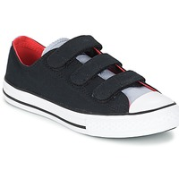 Sapatos Rapaz Sapatilhas Converse CHUCK TAYLOR ALL STAR 3V SPRING FUNDAMENTALS OX Preto / Azul / Branco
