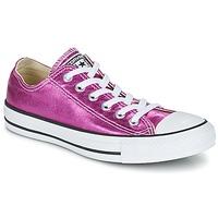 Sapatos Mulher Sapatilhas Converse CHUCK TAYLOR ALL STAR SEASONAL METALLICS OX Rosa / Metalizado