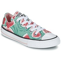 Sapatos Rapariga Sapatilhas Converse CHUCK TAYLOR ALL STAR WATERMELON OX Verde / Vermelho / Branco
