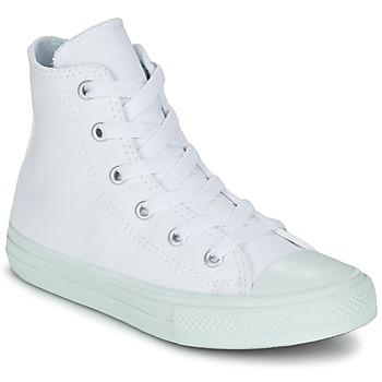 Sapatos Rapariga Sapatilhas de cano-alto Converse CHUCK TAYLOR ALL STAR II PASTEL SEASONAL TD HI Branco / Azul / Céu