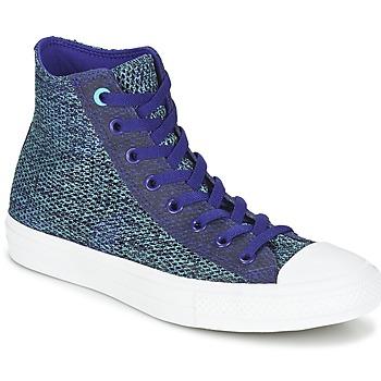 Sapatos Homem Sapatilhas de cano-alto Converse CHUCK TAYLOR ALL STAR II OPEN KNIT HI Azul