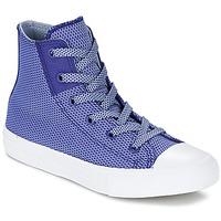 Sapatos Criança Sapatilhas de cano-alto Converse CHUCK TAYLOR ALL STAR II BASKETWEAVE FUSE TD HI Índigo / Azul / Branco